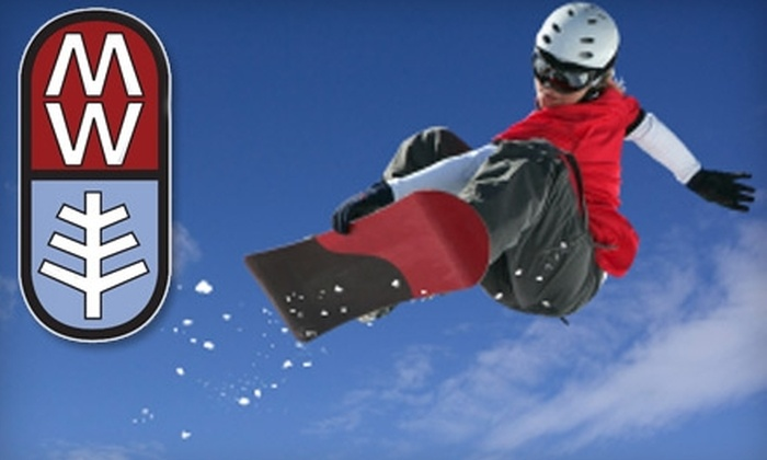 Mt. Waterman Ski Resort - La Canada Flintridge: $25 for an Adult All-Day Ski Lift Ticket at Mt. Waterman in the Angeles National Forest (Up to a $50 Value)