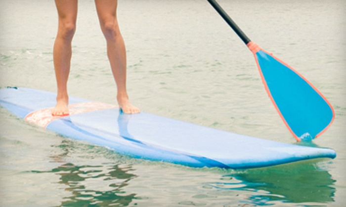 Go Stand Up Paddle - Peoria: Day of Paddleboarding and Lunch for Two or Four at Go Stand Up Paddle in Peoria (Up to 63% Off)