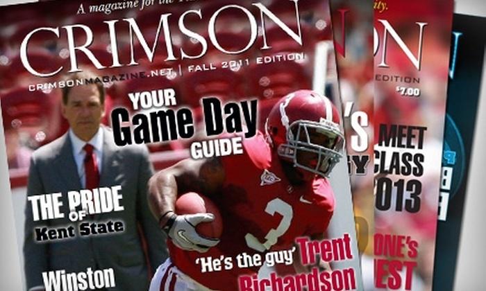 """Crimson Magazine"" - Bessemer: $10 for a One-Year Subscription to ""Crimson Magazine"" ($20 Value)"