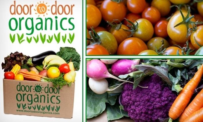 Door to Door Organics - Denver: $17 for One Box of Delivered Organic Produce from Door to Door Organics ($33.79 Value)