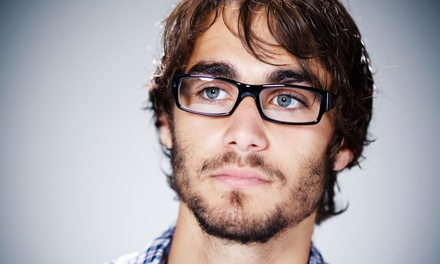 $59 for a Comprehensive Eye Exam and $165 Toward Frames and Lenses at Buda Vision Source ($285 Value)