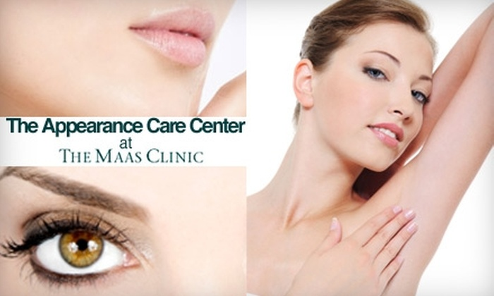 The Maas Clinic - Pacific Heights: $175 for Three Laser Hair-Removal Treatments at The Maas Clinic (Up to $478 Value)