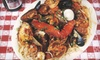 Daddy Jack's New England Lobster & Chowder House - Downtown Fort Worth: Upscale Seafood at Daddy Jack's New England Lobster & Chowder House. Five Options Available.