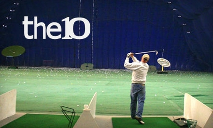 the10 Sports Dome - Long Lake: $40 for 10 Indoor-Golf Driving-Range Buckets ($80 Value) or $125 for One-Season Indoor-Golf Pass ($250 Value) at the10 Sports Dome in Long Lake