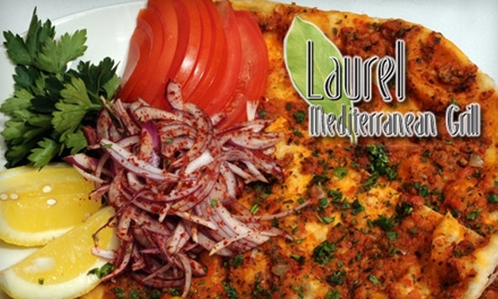 Laurel Mediterranean grill - Naperville: $20 for $40 Worth of Old World Fare at Laurel Mediterranean Grill in Naperville