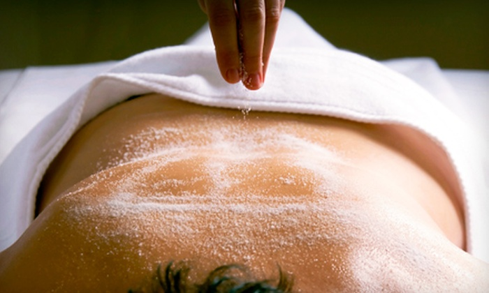 @ease Spa - Hillsdale: Grapefruit-Body-Scrub or Oxygen-Facial Spa Package at @ease Spa in Hillsdale