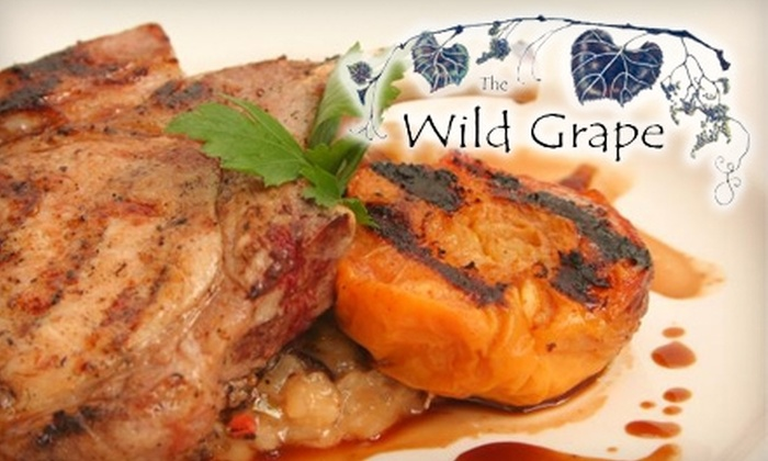 The Wild Grape Bistro - Greater Avenues: $14 for $30 Worth of Fresh Dinner Fare (or $9 for $20 Worth of Brunch or Lunch) at the Wild Grape Bistro