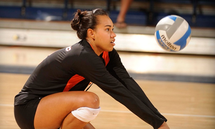 University of the Pacific Tigers - Pacific: $7 for Two Tickets to University of the Pacific vs. Duke Volleyball Match on September 1 at 5 p.m.