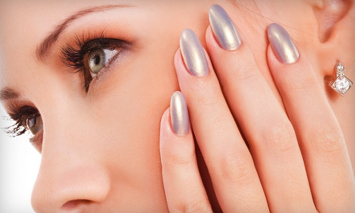 Source Salon & Spa - Adams: Signature Shellac Manicure at Source Salon & Spa. Three Options Available.