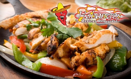 $30 Groupon to Habaneros Mexican Restaurant - Habaneros Mexican Restaurant in Edmond