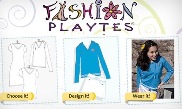 Fashion Playtes: $12 for $25 Worth of Custom-Designed Clothing from Fashion Playtes