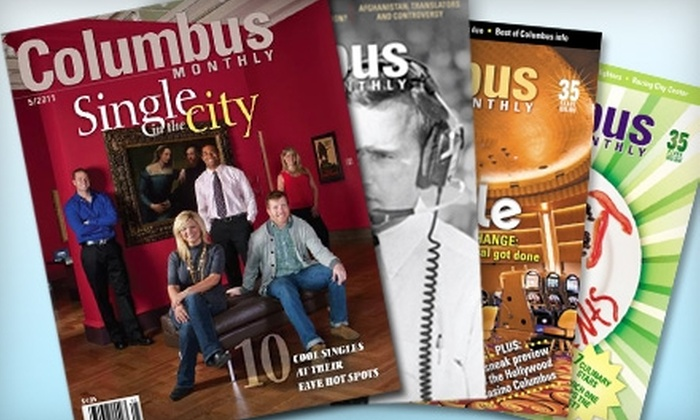 "Columbus Monthly: ""Columbus Monthly"" Subscription ($24 Value)"