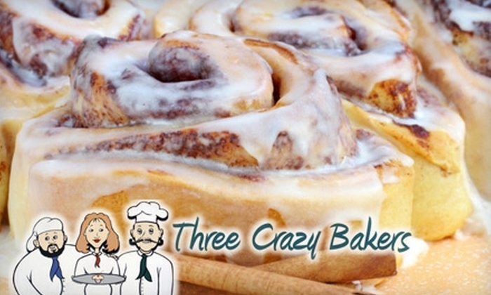 Three Crazy Bakers - Moultrie: $7 for $15 Worth of Lunch Fare and Baked Treats at Three Crazy Bakers in Moultrie