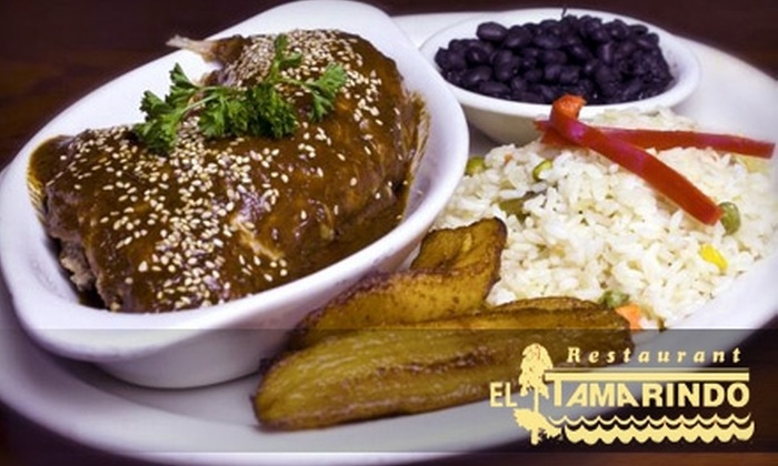 El Tamarindo - Adams Morgan: $20 for $40 Worth of Latin American Cuisine and Margaritas at El Tamarindo