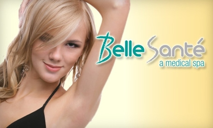 Belle Sante Medical Spa - Westwood Fairway: $199 for Three Laser Hair Removal Treatments at Belle Sante