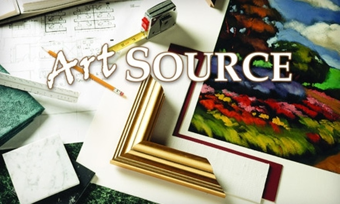 ArtSource Fine Art - North Hills: $40 for $100 Worth of Custom Framing at ArtSource Fine Art & Framing Gallery