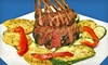 Acropolis - Evansville: $12 for $25 Worth of Mediterranean Fare and Drinks at Acropolis
