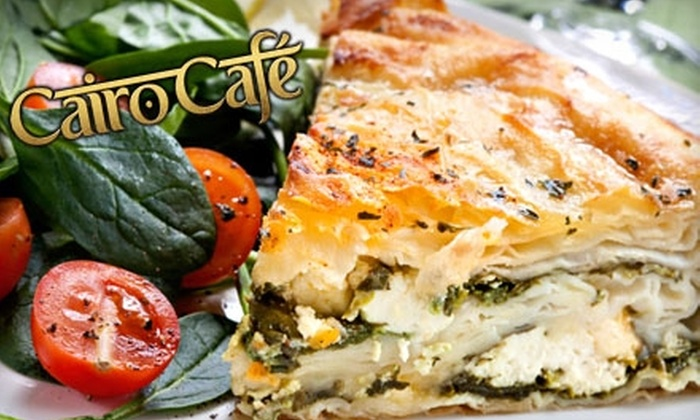 Cairo Café - Eagledale: $7 for $15 Worth of Mediterranean Fare and Hookah Usage at Cairo Café