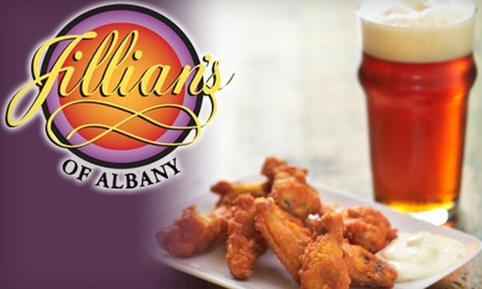 Jillian's of Albany - Downtown: $10 for $20 of Sandwiches, Pizzas, Salads, and More at Jillian's of Albany