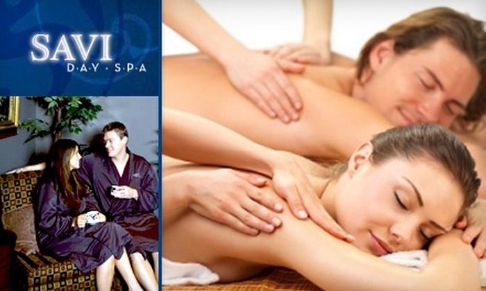 Savi Day Spa - New Tacoma: $79 for a Stress-Melting One-Hour Couple's Massage at Savi Day Spa ($190 Value)