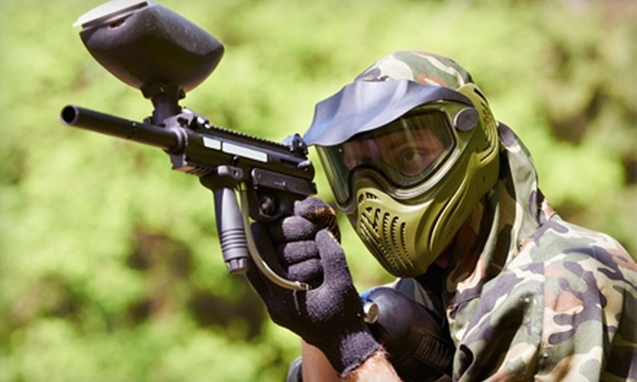 XMotoball - El Paso East: Paintball Outing with Equipment Rental and 200 Paintballs Each for Two or Four at XMotoball (Up to 64% Off)