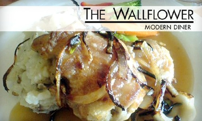 The Wallflower Modern Diner - Mt. Pleasant: $8 for $18 Worth of Comfort Fare for All Diets at The Wallflower Modern Diner