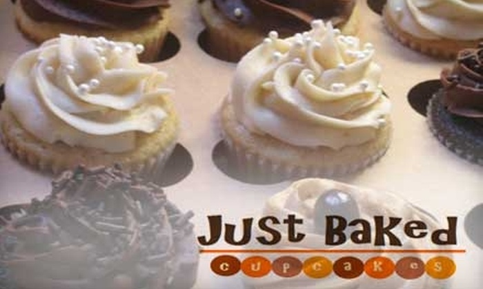 Just Baked Cupcakes - Cornelius: $15 for a Dozen Cupcakes from Just Baked Cupcakes in Cornelius