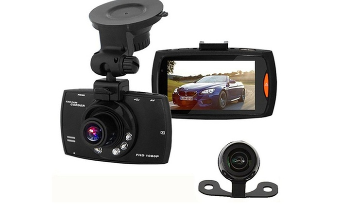 Apachie G30, G50 or G100 HD Front and Rear Dash Cam with Optional 16GB SD Card from £21.95
