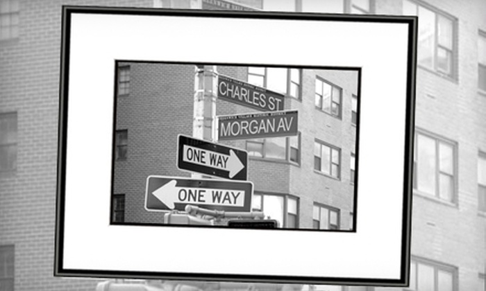 "Designable Images - NoLita: $68 for a Customized 16""x20"" Framed Print from Designable Images (Up to a $150 Value)"