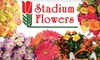 Stadium Flowers - Multiple Locations: $20 for $45 Worth of Flowers, Plants, and Gift Baskets from Stadium Flowers