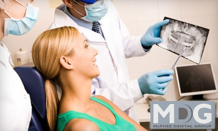 McPhee Dental Group - University Place: $69 for an Oral Exam, Cleaning, and X-rays at McPhee Dental Group ($362 Value)