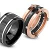Men's Mirror-Polished Titanium Rings