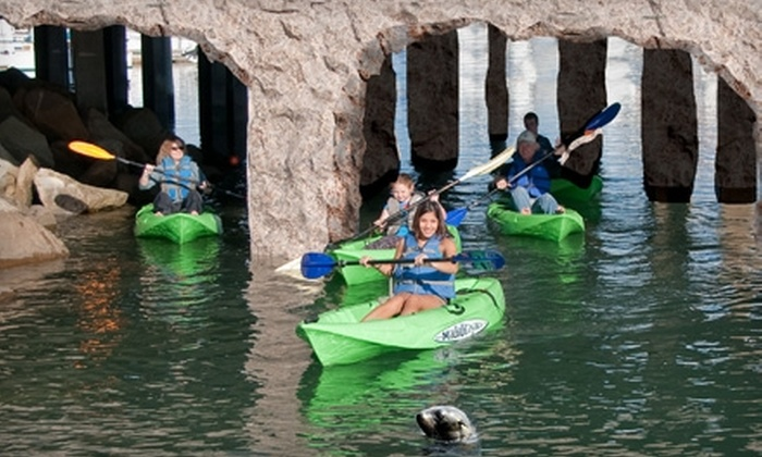 Channel Islands Kayak Center - Hollywood: $35 for a History and Wildlife Kayak Tour at the Channel Islands Kayak Center