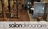 Salon Debonaire - Tuckahoe: $60 for a Haircut, Partial Highlight, Blow-dry, and Style at Salon Debonaire