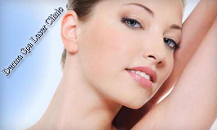 Derma Spa Laser Clinic - West Arlington: $149 for Six Laser Hair-Removal Treatments at Derma Spa Laser Clinic