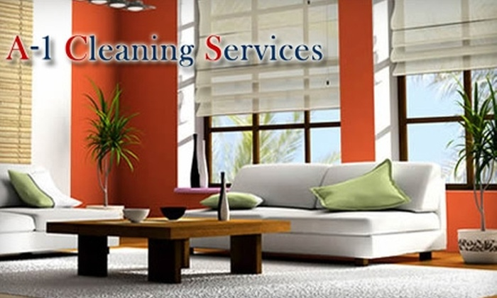 A-1 Cleaning Services - Westbrooke South: $35 for Carpet Cleaning in Two Areas up to 350 Square Feet from A-1 Cleaning Services ($70 value)