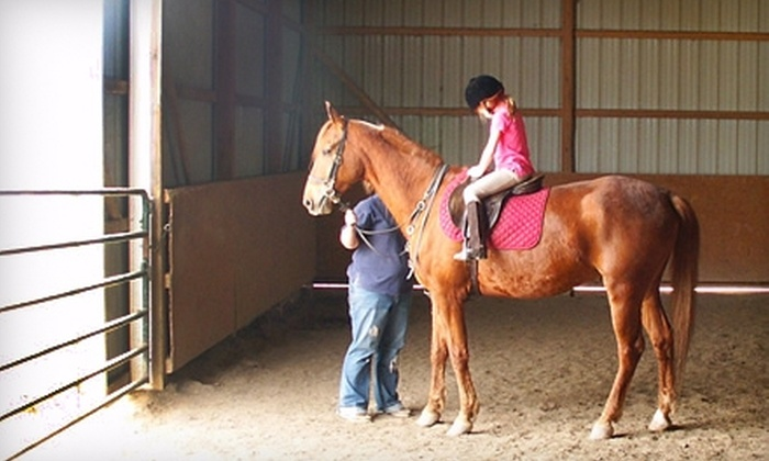 JD Horsemanship - Fort Wayne: $30 for Two One-Hour Horseback Riding Lessons with JD Horsemanship in Columbia City ($60 Value)