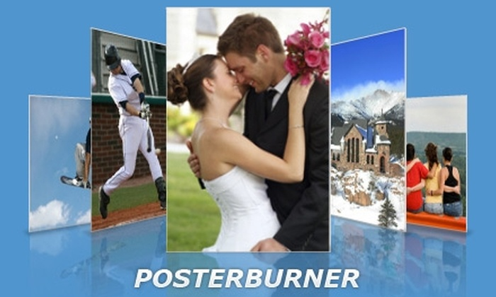 "PosterBurner: $15 for a 24""x36"" Custom Poster, Including Shipping, from PosterBurner"