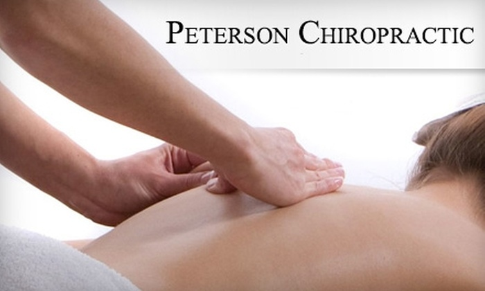 Dr. Louis Peterson - Midtown South Central: $45 for a Chiropractic Consultation, Treatment, and Massage at Peterson Chiropractic ($285 Value)
