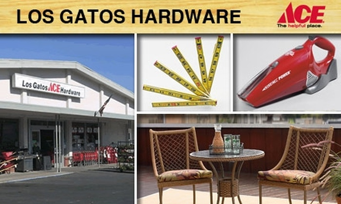 Los Gatos Ace Hardware - Los Gatos: $10 for $20 Worth of Goods and Services at Los Gatos Ace Hardware