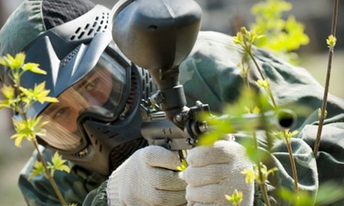 Randolph Paintball - Holbrook: $20 Paintball Outing With Equipment and 200 Balls at Randolph Paintball