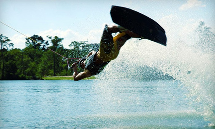 M2 Sports - Northeast Harris: Wakeboarding or Water-skiing Lesson for Two or Six from M2 Sports in Highlands (Up to 60% Off)