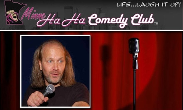 MinneHAHA Comedy Club - Burnsville: $4 Ticket to MinneHAHA Comedy Club ($9 Value)