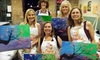 The Funky Paintbrush - Woodstock: Painting Classes at The Funky Paintbrush in Woodstock. Three Options Available.