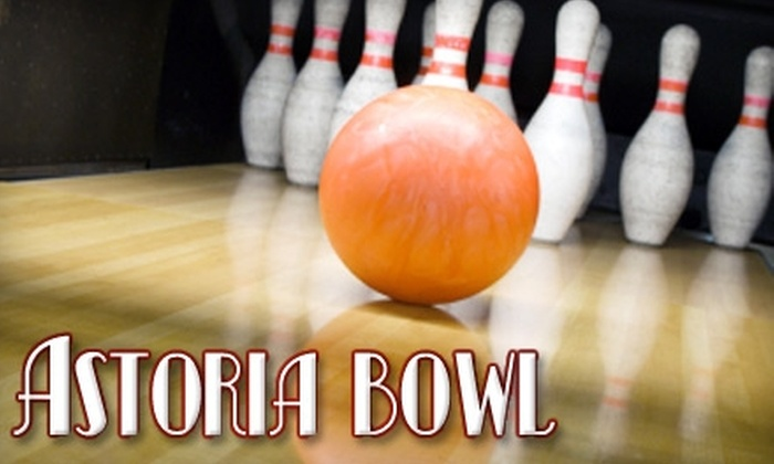 Astoria Bowl - Ditmars Steinway: $9 for Two Games of Bowling and One Shoe Rental at Astoria Bowl