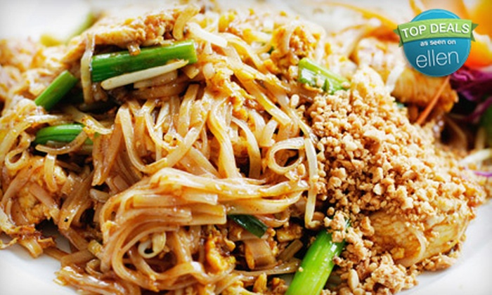 Bangkok Cuisine - Multiple Locations: $10 for $20 Worth of Thai Fare at Bangkok Cuisine. Four Locations Available.