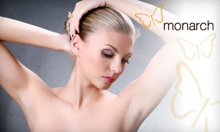 Monarch Medspa - Lutherville - Timonium: $185 for Three Laser Hair-Removal Treatments and a Plastic-Surgery Consultation at Monarch Medspa (Up to $870 Value)