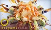 Origami Sushi - Town N County Alliance: $12 for $25 Worth of Japanese Cuisine and Drinks at Origami Sushi