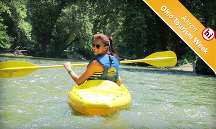 Wally World Riverside Resort - Akron / Canton: $49 for Two Nights of Camping and a Canoe Rental for Two at Wally World Riverside Resort in Loudonville ($126 Value)