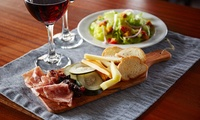Three Tapas and Glass of Wine Each for Up to Six at Churchills Bar (Up to 63% Off)